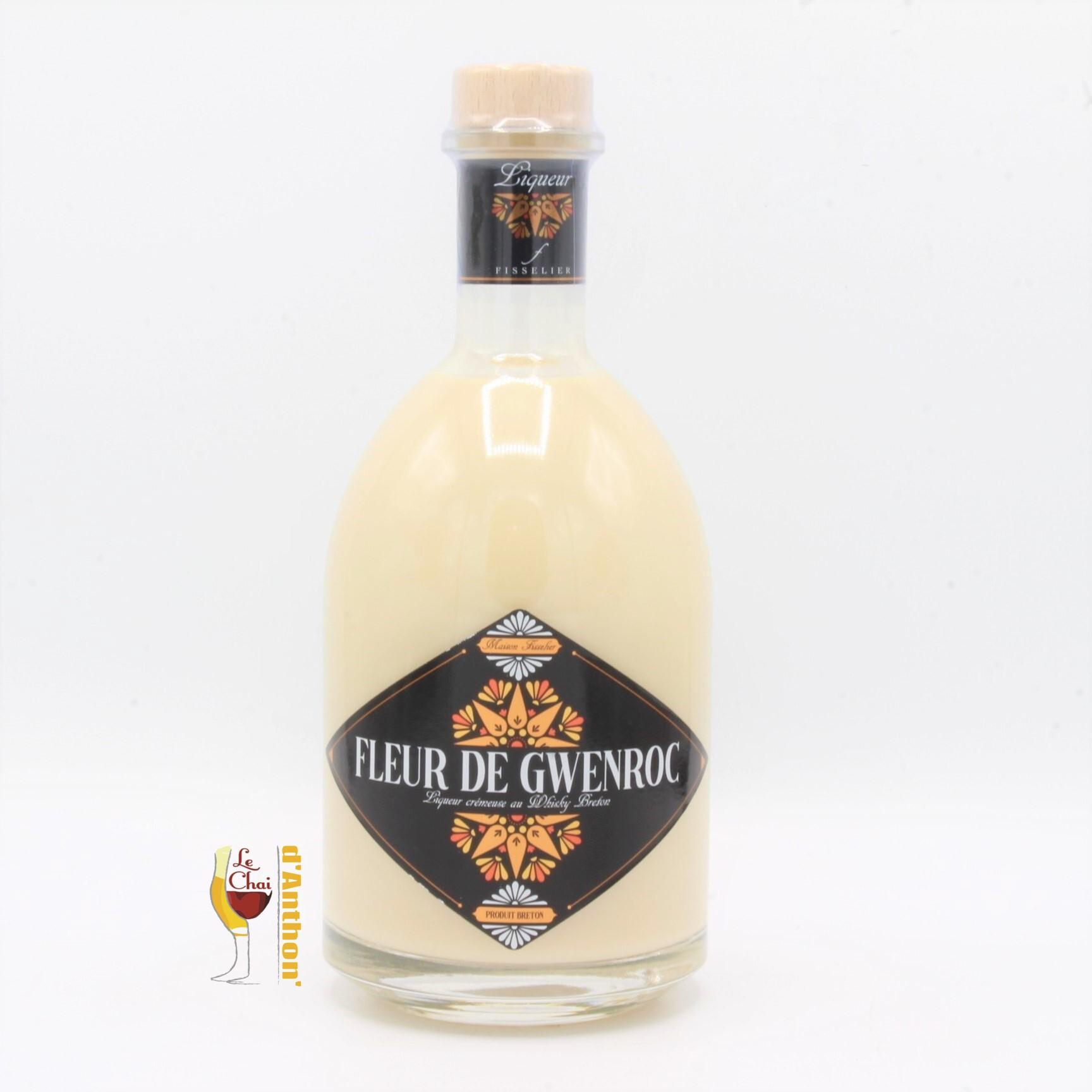 Creme Whisky Breton Fleur De Gwenroc Fisselier 70cl