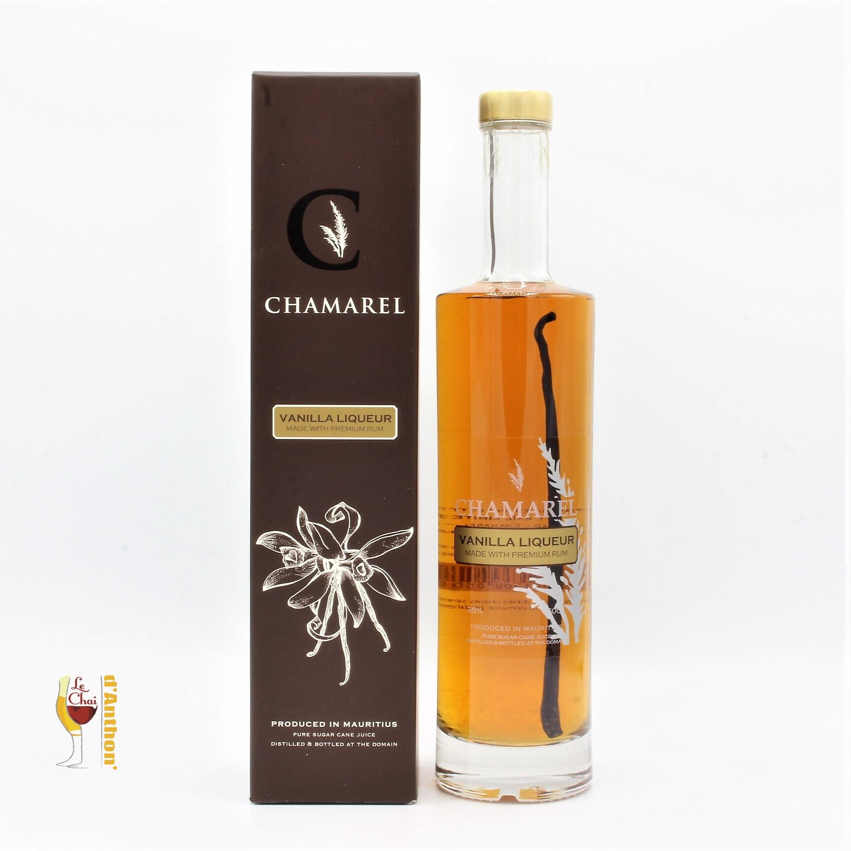 Liqueur Rhum Vanille Ile Maurice Chamarel 50cl