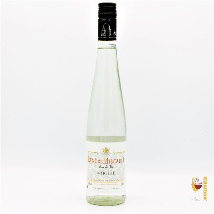 Spiritueux Eau De Vie De Myrtille Rene De Miscault 50cl