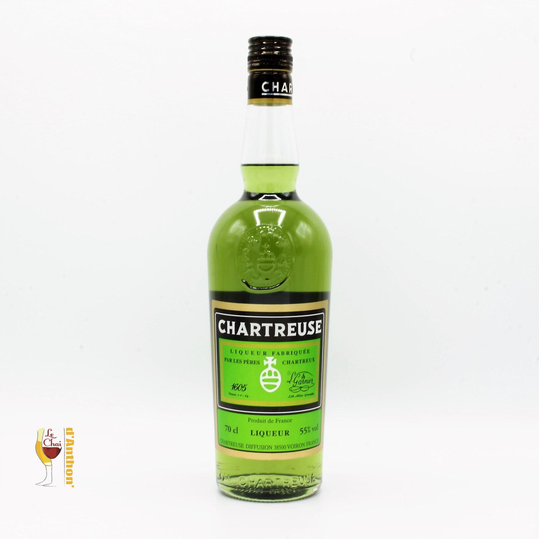Spiritueux Liqueur Plantes Français Chatreuse Verte 70cl