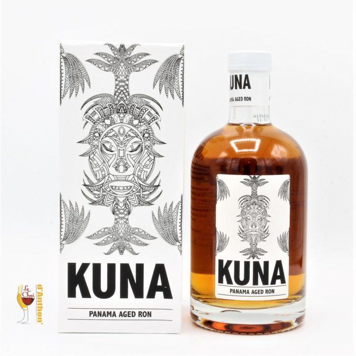 Spiritueux Rhum Ambre Melasse Panama Kuna 70cl