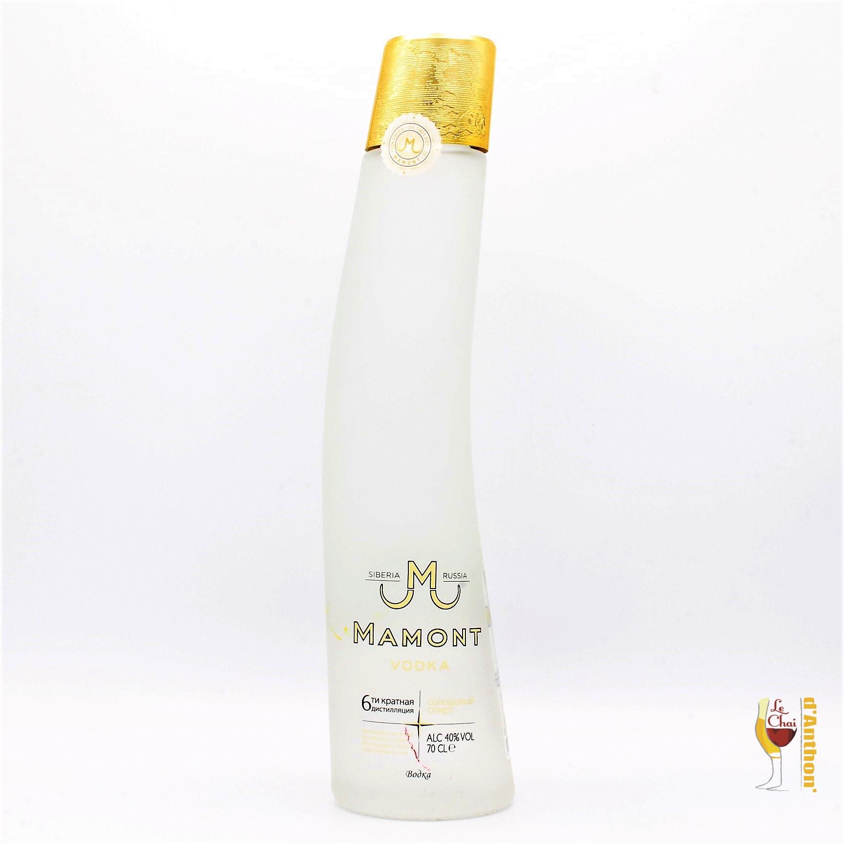 Spiritueux Vodka Siberie Mamont 70cl