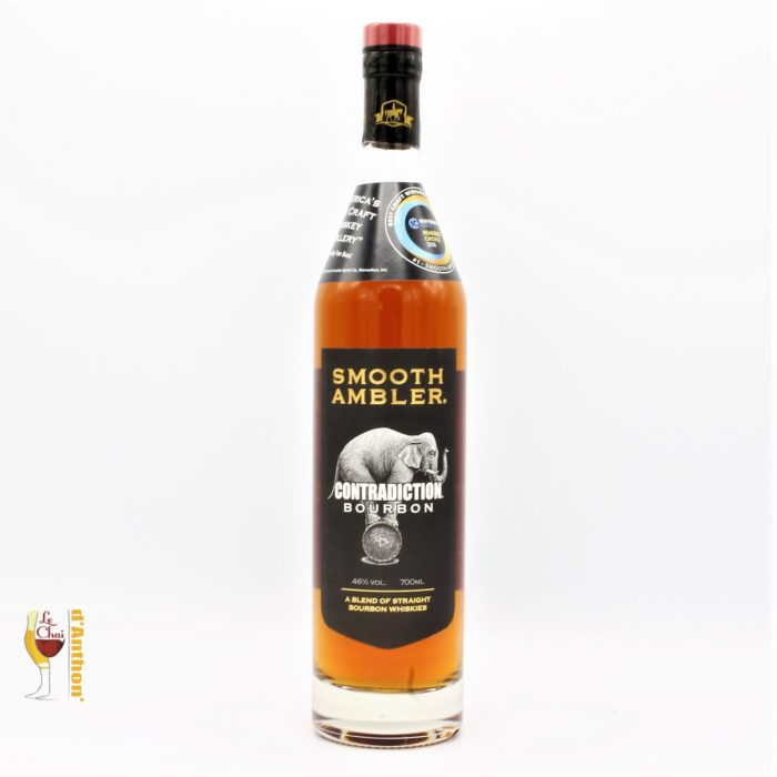 Spiritueux Whiskies Americain Bourbon Smooth Ambler Contradiction 70cl