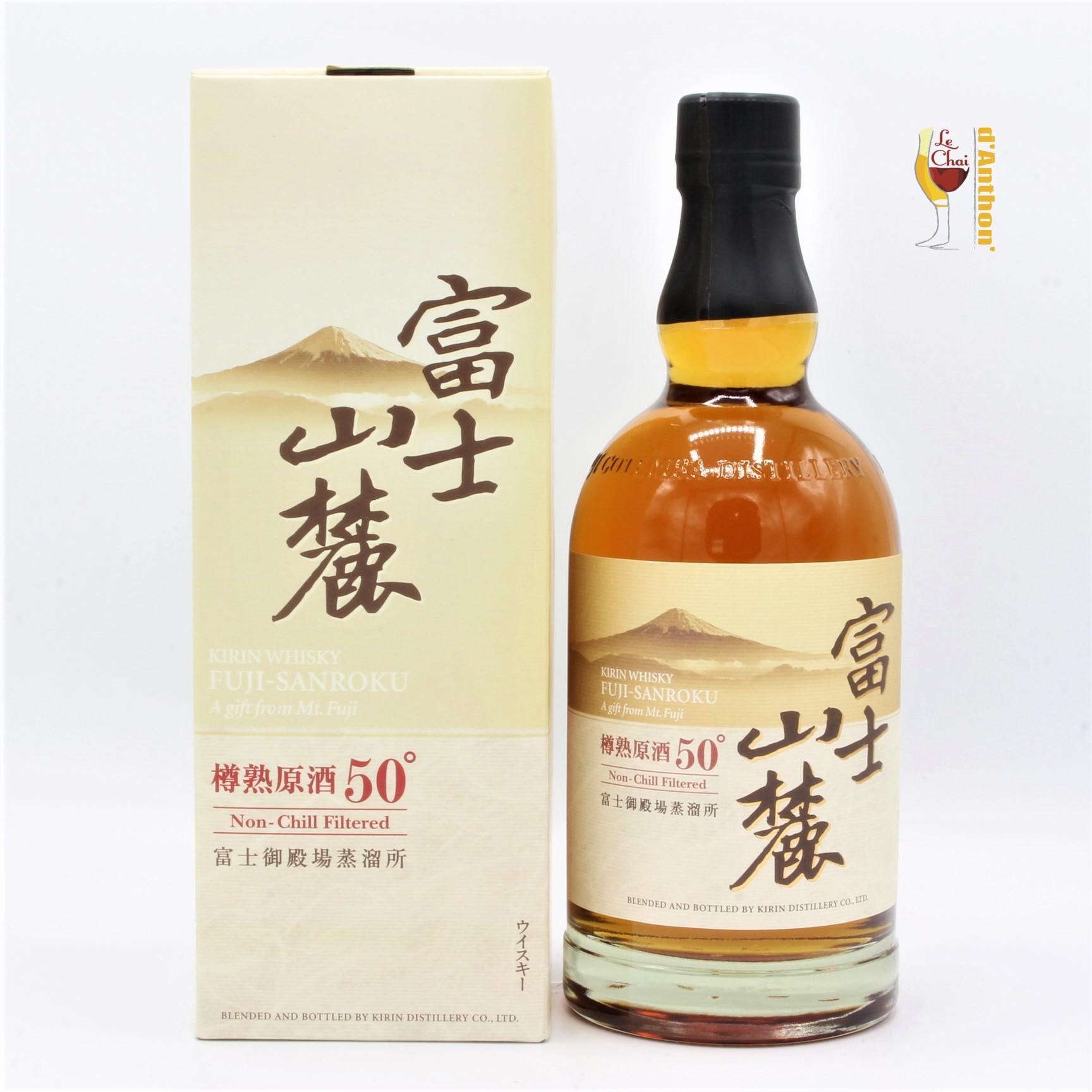 Spiritueux Whiskies Blend Japonais Fuji Sanroku 70cl