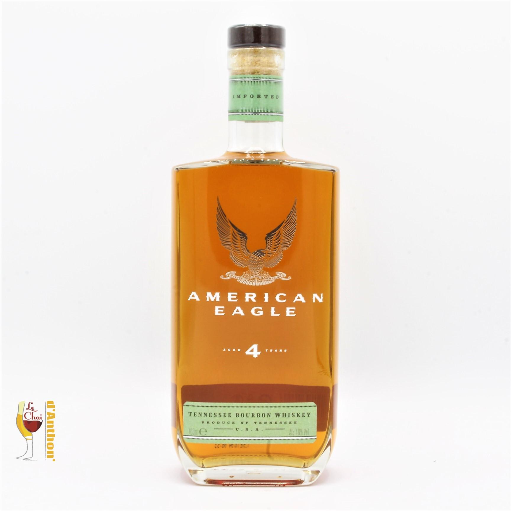 Spiritueux Whiskies Bourbon American Eagle 4 Ans 70cl