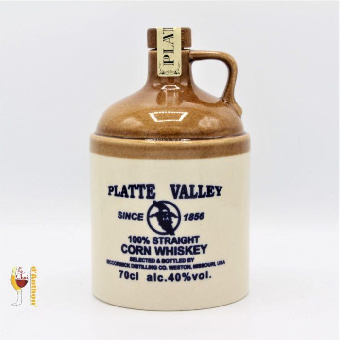 Spiritueux Whiskies Corn Americain Platte Valley 70cl