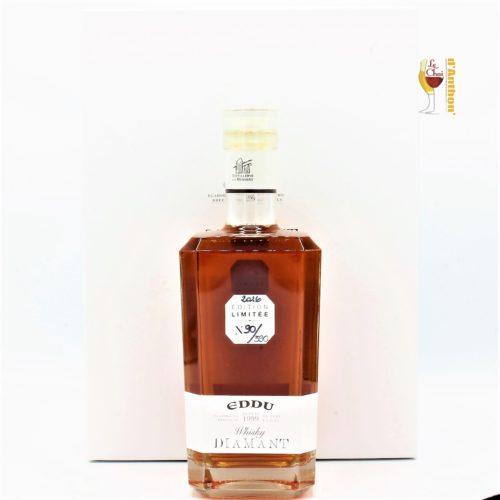 Spiritueux Whiskies Français Breton Single Malt Eddu Diamant 70cl