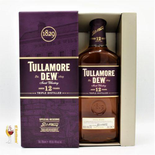 Spiritueux Whiskies Irlandais Blend Tullamore Dew 12 Ans 70cl