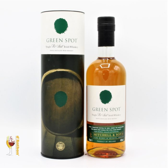 Spiritueux Whiskies Irlandais Single Pot Still Green Spot 70cl