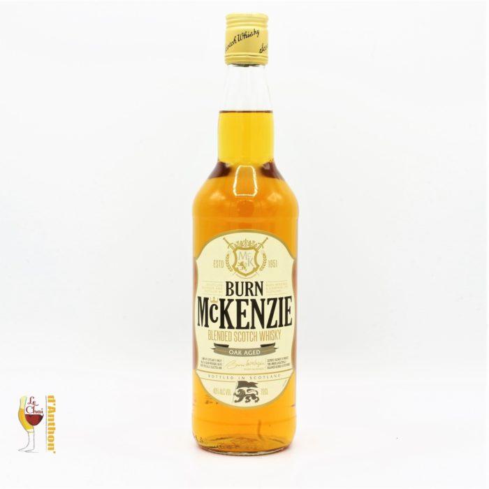Spiritueux Whiskies Scotch Blend Burn Mc Kenzie 70cl