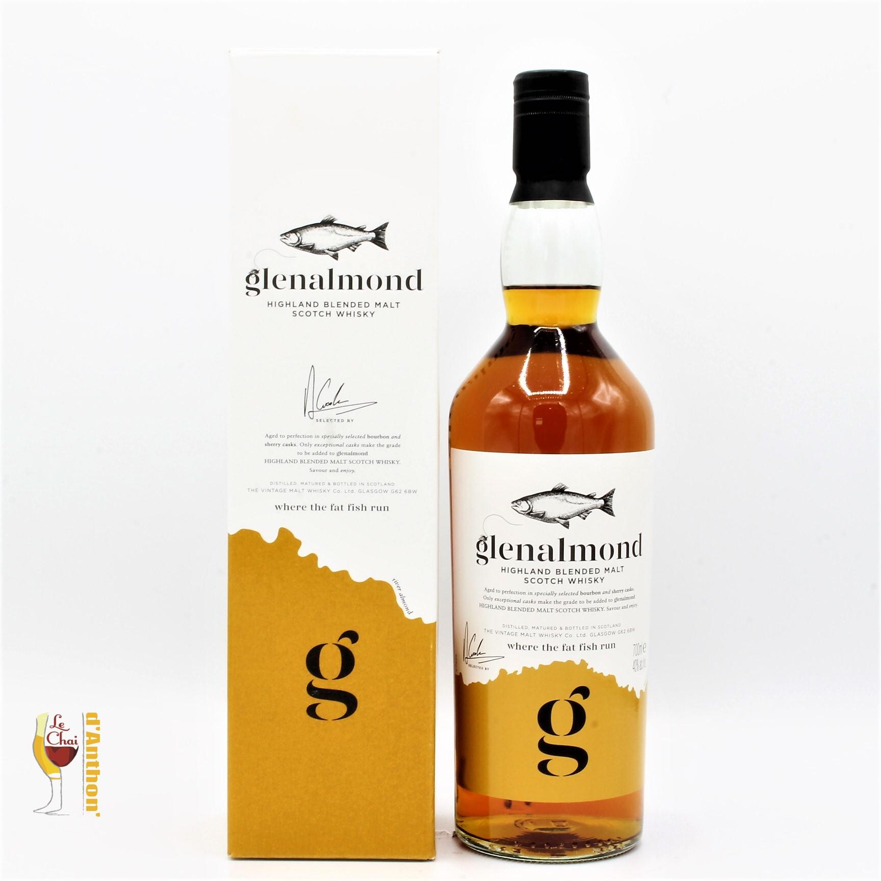 Spiritueux Whiskies Scotch Blend Glenalmond 70cl
