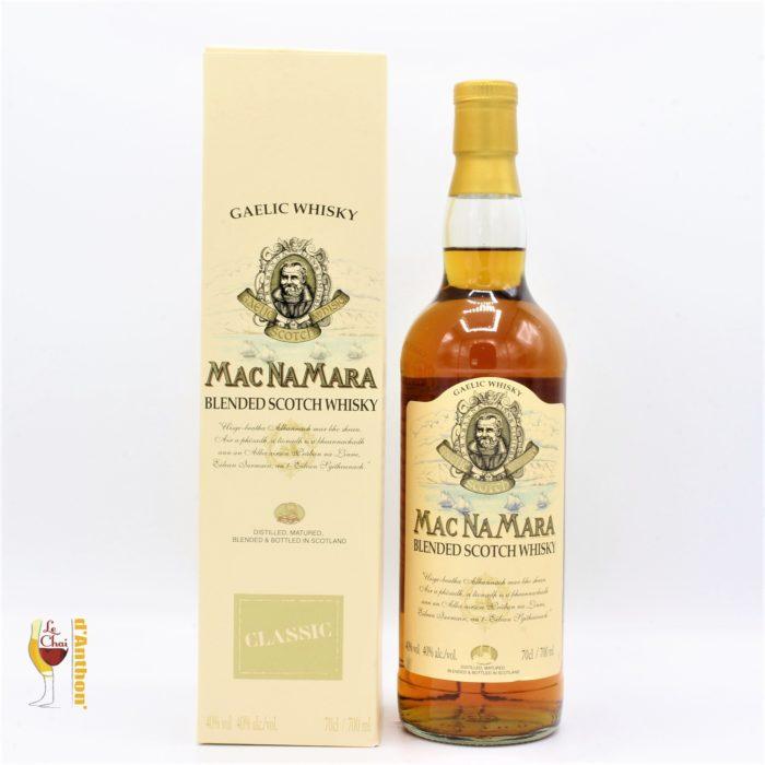 Spiritueux Whiskies Scotch Blend Macnamara Classic 70cl