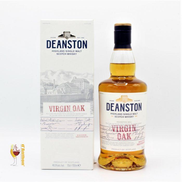 Spiritueux Whiskies Scotch Single Malt Deanston Virgin Oak 70cl