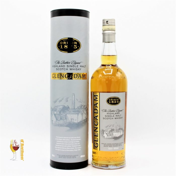 Spiritueux Whiskies Scotch Single Malt Glencadam Origin 70cl