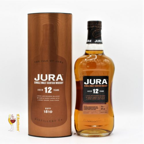Spiritueux Whiskies Scotch Single Malt Jura 12 Ans 70cl