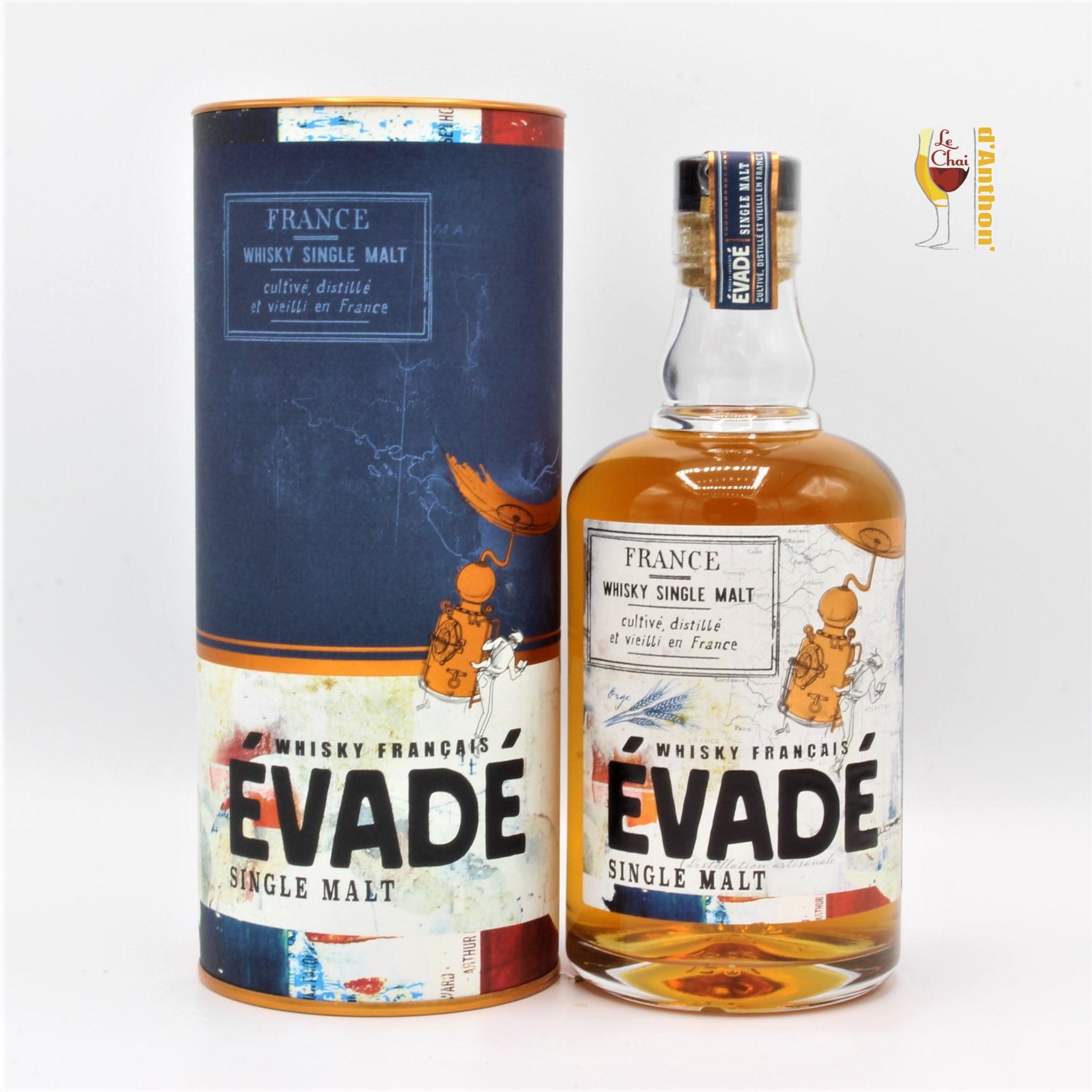 Spiritueux Whiskies Single Malt Français Evade 70cl