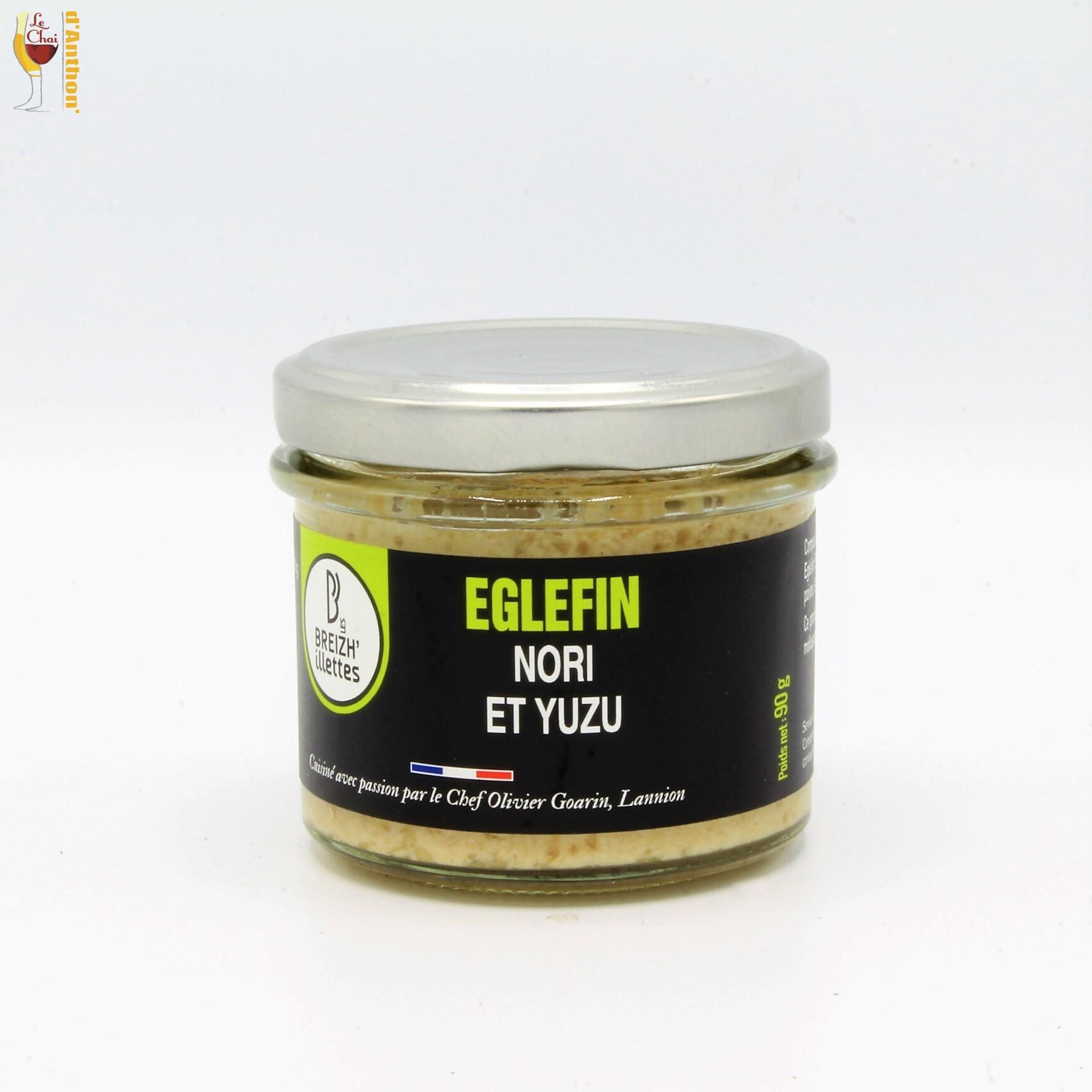 Conserverie Eglefin Au Nori Et Yuzu 90 Gr Breizh' Illettes